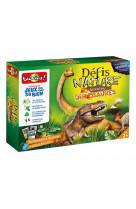 Le grand jeu defis nature - dinosaures