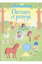 Chevaux et poneys - mes petits autocollants usborne
