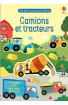 Camions et tracteurs - mes petits autocollants usborne