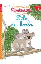 L-ile du koala, niveau 1 - j-apprends a lire montessori