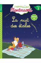 La nuit des etoiles, niveau 2 - j-apprends a lire montessori