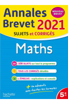Annales brevet 2021 maths