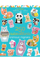250 stickers - animaux mignons