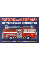 Camion de pompiers et vehicules d-urgence