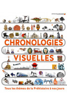 Chronologies visuelles - tous les themes de la prehistoire a nos jours