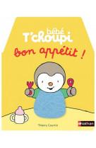Bebe t-choupi a table - bon appetit