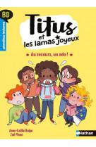 Bd premieres lectures - titus et les lamas joyeux - au secours, un ado !