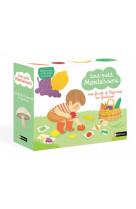 Coffret fruits et legumes - tout petit montessori