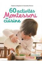 60 activites montessori en cuisine