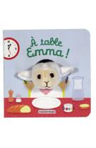 A table, emma ! - audio