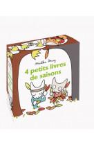 4 petits livres de saisons