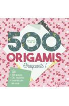 500 mini origamis craquants