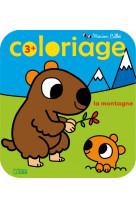 Coloriage m.billet la montagne