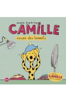 Camille essaie des bonnets suivi de camille teste les toboggans