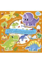 250 autocollants - dinosaures !