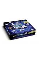 Coffret magie - du contenu pas-a-pas et en cadeau : 1 dvd, 1 jeu magique de 52 cartes, 1 cube magiqu
