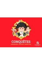 Col.coffret-conquetes 3ex+poster