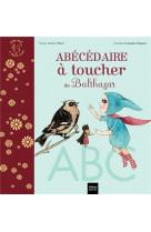 L-abecedaire a toucher de balthazar - pedagogie montessori