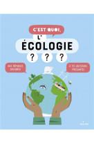 C-est quoi, l-ecologie ? ne