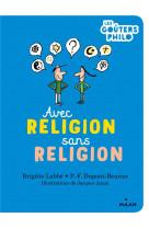 Avec religion, sans religion