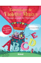 L-abecedaire de violette mirgue - voyage au pays de l-alphabet