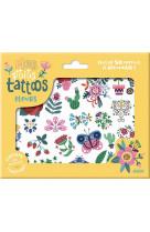 Mes p-tits tattoos - fleurs