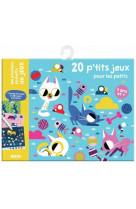 Ma premiere pochette de jeux - 20 p-tits jeux pour les petits