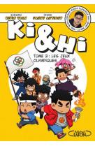 Bd - ki et hi - tome 3 les jeux olympiques - vol03