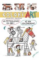Colori-art - la mythologie en bd et en coloriages