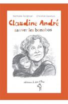 Claudine andre, sauver les bonobos