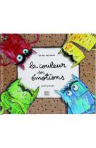 La couleur des emotions - un livre tout anime