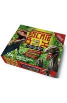 Escape box dinosaures - escape game enfant de 2 a 5 joueurs - de 8 a 12 ans