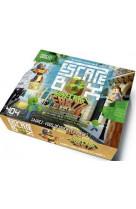 Escape box minecraft earth - escape game enfant de 2 a 5 joueurs - de 8 a 12 ans
