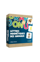 Coffret lettres magnetiques animaux celine alvarez