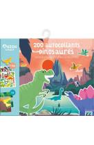 200 autocollants dinosaures (edition 2021)