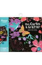 Cartes a gratter - fleurs (edition 2021)