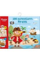 200 autocollants pirates (edition 2021)