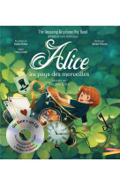 Alice au pays des merveilles - livre cd