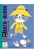 Bata-miaou jeu de bataille 3-6 ans