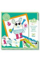 Dessiner ensemble animaux 3-6 ans jeu de dessin collectif