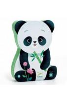 Leo le panda puzzle 24 pieces 3 ans