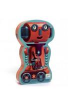 Bob le robot puzzle 36 pieces 4 ans